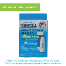 Набор запасной Thermacell Long Life Refill (4 газовых картриджа + 4 пластины)